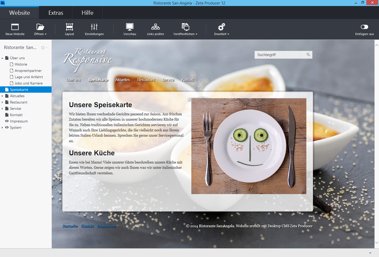 Professional, easy-to-use Desktop Content Management System for Windows.